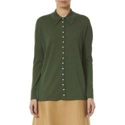 Carolina Herrera Oversized Wool-Blend Shirt found on MODAPINS from Overstock for USD $449.99