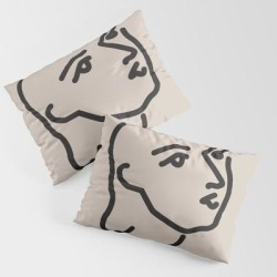 King Size Pillow Sham   Janey - Henri Matisse - Lithograph - Vintage Art Print - Digital Download - Printable Matisse Print by Lyndaloveplace - STANDARD SET OF 2 - Cotton - Society6