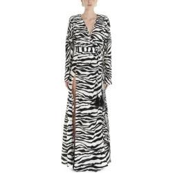 Attico Striped Maxi Dress - Black - The Attico Dresses found on MODAPINS from lyst.com for USD $981.00
