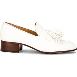 Pompon 40 Loafer - White - Loewe Flats found on MODAPINS from lyst.com for USD $449.00