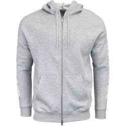 ASICS Logo Sweat Full Zip Hoodie Mens Casual Hoodie - Grey (1XL), Men's, Gray found on MODAPINS from Overstock for USD $29.95