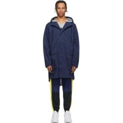 Navy Nrg Parka Coat - Blue - Nike Coats found on Bargain Bro from lyst.com for USD $296.40