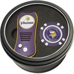 Minnesota Vikings Switch Chip Golf Tin Set found on Bargain Bro from nflshop.com for USD $18.99