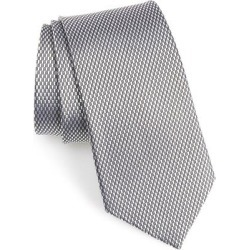 Solid Silk Tie - Metallic - Nordstrom Ties found on Bargain Bro India from lyst.com for $80.00