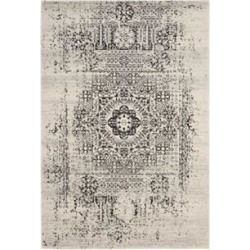 Safavieh Ivory/Black Evoke Hint of Vintage Area Rug Collection found on Bargain Bro Philippines from belk for $290.00