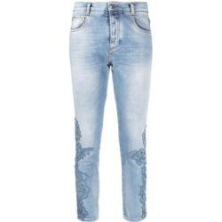 Denim Slim Jeans - Blue - Ermanno Scervino Jeans found on Bargain Bro from lyst.com for USD $417.24