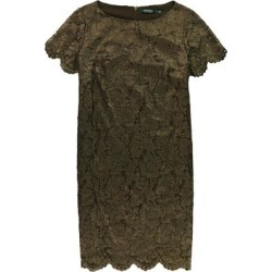 Ralph Lauren Womens Lace Asymmetrical Dress gold 6 found on Bargain Bro from Overstock for USD $56.52