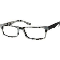 Zenni Classic Rectangle Prescription Glasses Black Plastic Frame found on Bargain Bro from Zenni Optical for USD $19.72