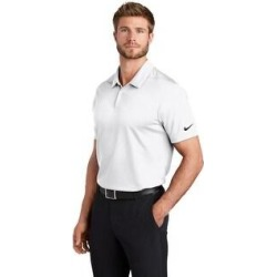 Nike Men's Dry Essential Solid Polo (L - White)(polyester) found on Bargain Bro India from Overstock for $49.99