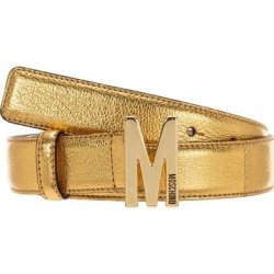 Women's Genuine Leather Belt - Brown - Moschino Belts found on Bargain Bro from lyst.com for USD $101.84