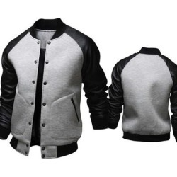 Mens Fashion Casual Slim Baseball Jacket found on MODAPINS from Overstock for USD $43.15