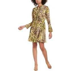 Natori Ombre Animale Mini Dress (12), Women's, Green(polyester) found on Bargain Bro India from Overstock for $109.99