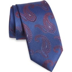 Paisley Silk Tie - Blue - Canali Ties found on Bargain Bro India from lyst.com for $96.00