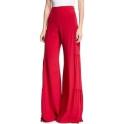 Alexis Womens Shirred Silk Wide Leg Dress Pants (Small), Women's found on MODAPINS from Overstock for USD $329.91