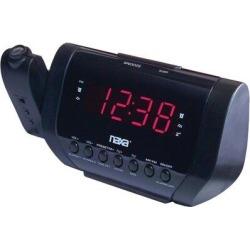 Naxa Digital Electric Alarm Tabletop Clock in Black, Size 3.3 H x 9.5 W x 4.4 D in   Wayfair NAXNRC173 found on Bargain Bro Philippines from Wayfair for $43.99
