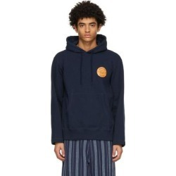 Navy Stepping Razor Hoodie - Blue - Nicholas Daley Sweats found on MODAPINS from lyst.com for USD $490.00