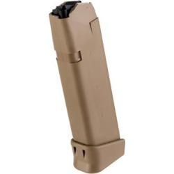 Glock 17/19x Gen 5 Magazine - 17/19x Magazine 9mm 19rd Polymer Coyote found on Bargain Bro Philippines from brownells.com for $39.99