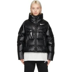 Black Down Puffer Jacket - Black - Nike Jackets found on Bargain Bro from lyst.com for USD $190.00