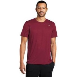Nike Men's DRI-FIT Legend Tee (S - Team Maroon), Red(jersey) found on Bargain Bro India from Overstock for $39.99