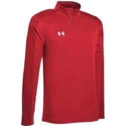 Under Armour Men's Team Novelty Locker 1/4 Zip (Red / Metallic Silver - XL), Red / Grey Silver(polyester) found on Bargain Bro Philippines from Overstock for $34.97