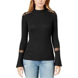 Maison Jules Womens Swiss-Dot-Illusion Kimono Top Blouse (Black - S), Women's(rayon, dotted) found on Bargain Bro from Overstock for USD $16.40