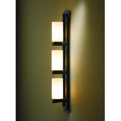 Hubbardton Forge Ondrian 26 Inch 3 Light Bath Vanity Light - 206309-1006 found on Bargain Bro Philippines from Capitol Lighting for $1188.00