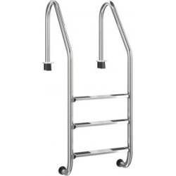 Costway 3 Step Stainless Steel Swimming Pool Ladder Handrail for Pool found on Bargain Bro Philippines from Costway for $169.95