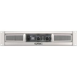 QSC 2 channel Amplifier 300 watts/ch at 8, 425 watts/ch at 4ohm found on Bargain Bro from Crutchfield for USD $265.99