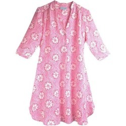 Silk Decima Dress Sand Dollar - Pink - Pink House Mustique Dresses found on Bargain Bro from lyst.com for USD $411.16
