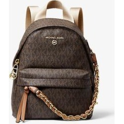 Michael Kors Slater Extra-Small Logo Convertible Backpack Brown One Size found on Bargain Bro Philippines from Michael Kors for $258.00