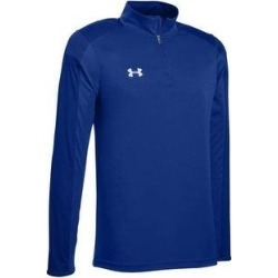 Under Armour Men's Team Novelty Locker 1/4 Zip (Royal / Metallic Silver - Medium), Royal / Grey Silver(polyester) found on Bargain Bro Philippines from Overstock for $34.97
