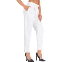 Women's Trousers Pants - White - Ermanno Scervino Pants found on Bargain Bro from lyst.com for USD $343.52