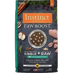 Nature's Variety Instinct Raw Boost Grain-Free Chicken Meal Large Breed Puppy Dry Dog Food, 20-lb found on Bargain Bro from Chewy.com for USD $53.19