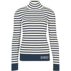 Striped Top - Blue - Moncler Tops found on Bargain Bro Philippines from lyst.com for $615.00