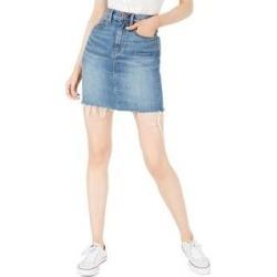 Hudson Womens Lulu Denim Skirt Jean Cut Off (Vroom - 24), Women's found on MODAPINS from Overstock for USD $42.99