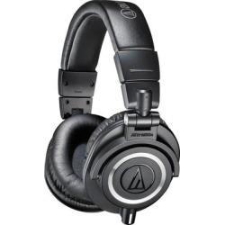 Audio-Technica Headphones Closed-back headphones-in Black found on Bargain Bro from Crutchfield for USD $113.24