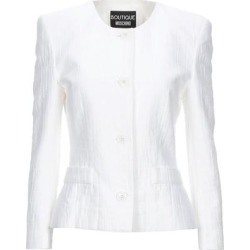 Suit Jacket - White - Boutique Moschino Jackets found on MODAPINS from lyst.com for USD $290.00