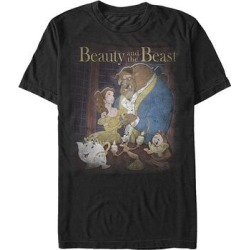 Fifth Sun Men's Tee Shirts BLACK - Black Disney Beauty Poster Tee - Men found on Bargain Bro from zulily.com for USD $12.15