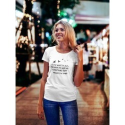Everything That Weighs You Down Tee Women's -Image by Shutterstock (L), White found on Bargain Bro Philippines from Overstock for $13.29