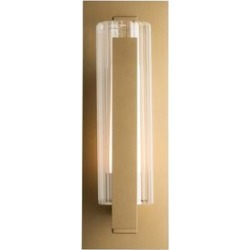 Hubbardton Forge Vertical Bar 18 Inch Tall 1 Light Outdoor Wall Light - 307282-1006 found on Bargain Bro from Capitol Lighting for USD $593.56