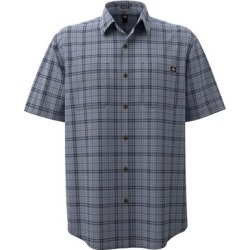 Dickies Men's Short Sleeve Flex Woven Shirt - Fog Blue Ink Navy Size 4Xl (WS551) found on Bargain Bro India from Dickies.com for $29.99