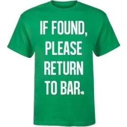petite If Found Please Return To Bar - Mens Short Sleeve Tee Shirt (XXL), Men's