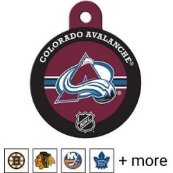 Quick-Tag Personalized NHL Circle Dog & Cat ID Tag, Large, Colorado Avalanche found on Bargain Bro India from Chewy.com for $14.99