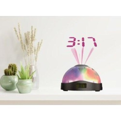Trinx Digital Quartz Alarm Tabletop Clock in SilverPlastic/Acrylic in Gray, Size 4.5 H x 4.5 W x 4.0 D in   Wayfair found on Bargain Bro Philippines from Wayfair for $41.99