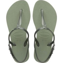 Havaianas Women's Sandals MINERAL - Mineral Green Twist Sandal - Women found on MODAPINS from zulily.com for USD $17.99