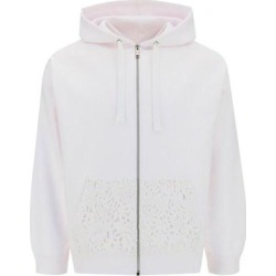 Lace Pocket Hooded Jacket - White - Valentino Jackets found on Bargain Bro India from lyst.com for $830.00