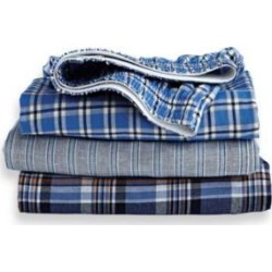 Men's Munsingwear® Woven Cotton Boxers 3-Pack, Patterns 2XL found on Bargain Bro from Blair.com for USD $25.07