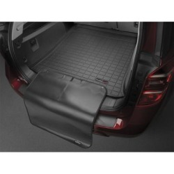 WeatherTech Cargo Liner wProtector, Fits 2020 BMW X4, Primary Color Black, Pieces 2, Model 401208SK found on Bargain Bro from northerntool.com for USD $135.24