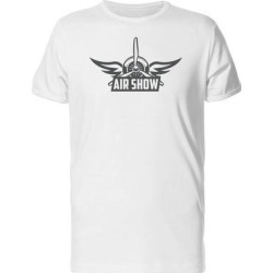 Air Show Logo Tee Men's -Image by Shutterstock (S), White found on Bargain Bro from Overstock for USD $10.63
