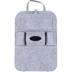 Kalumei Car Organizers Light - Light Gray Car Seat Storage Bag found on Bargain Bro Philippines from zulily.com for $12.99